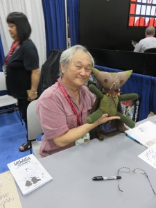 Elfin and Stan Sakai
